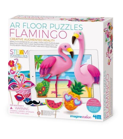 4M  Floor Puzzles Flamingo