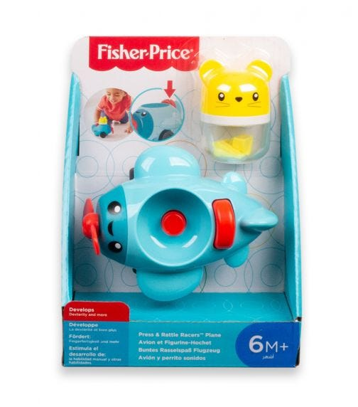 FISHER PRICE I Rattle N Roll Vehicle Assorted