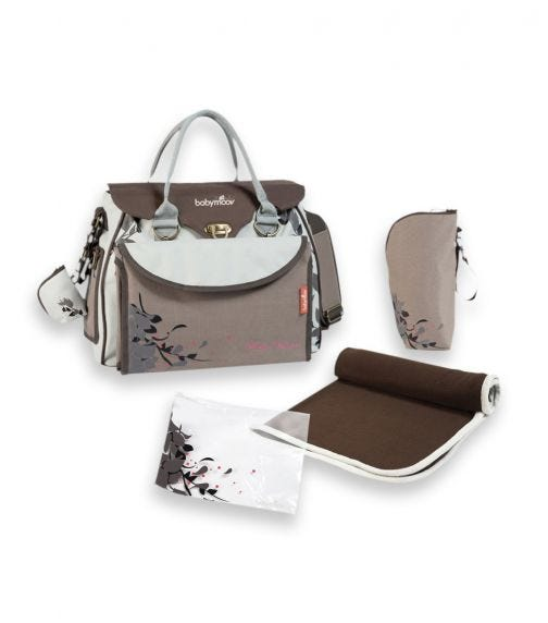 BABYMOOV Maternity & Changing Bag Baby Style - Star