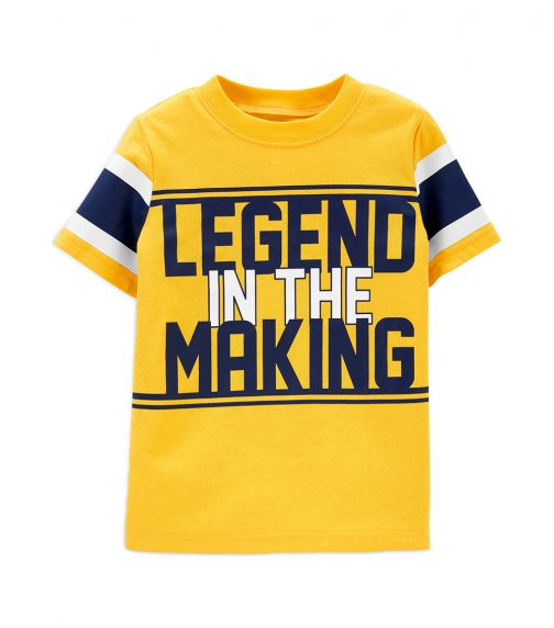 CARTER'S Legend In The Making Jersey Tee