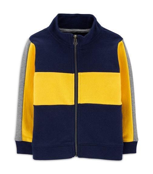 CARTER'S Colorblock Zip-Up Jacket