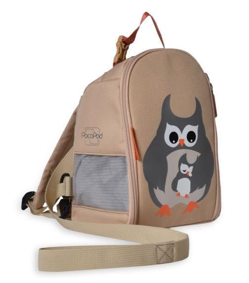 PACAPOD Toddler Pod - Grey Owl & Babe