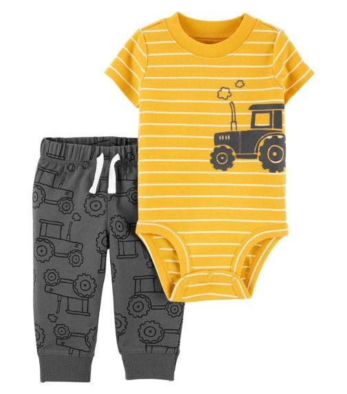 CARTER'S 2-Piece Construction Bodysuit Pant Set