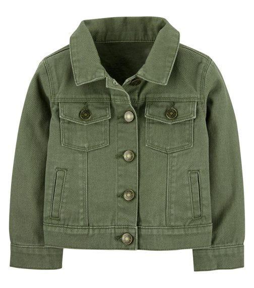 CARTER'S Twill Denim Jacket
