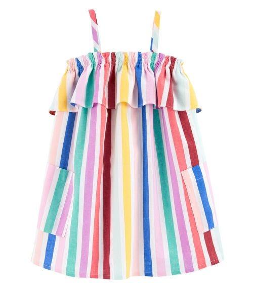 OSHKOSH Rainbow Stripe Dress