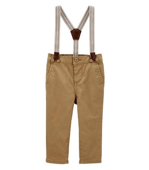 OSHKOSH Stretch Suspender Pants