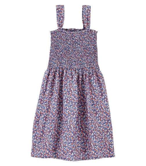 OSHKOSH Smocked Floral Dress
