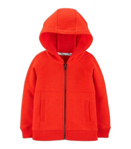 CARTER'S Zip-Up French Terry Hoodie