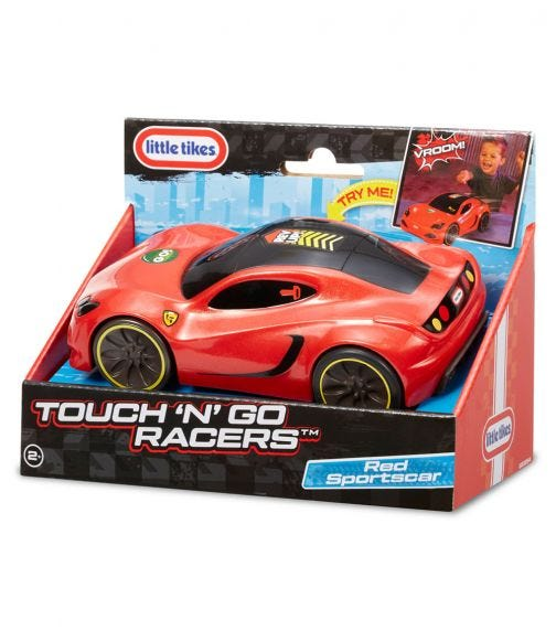 LITTLE TIKES Touch n' Go Racers-Red Sportcar