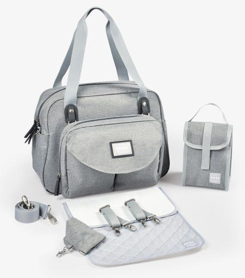 BEABA Geneva II Changing Bag - Heather Gray