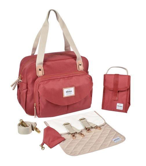BEABA Geneva II Changing Bag - Terracota Red
