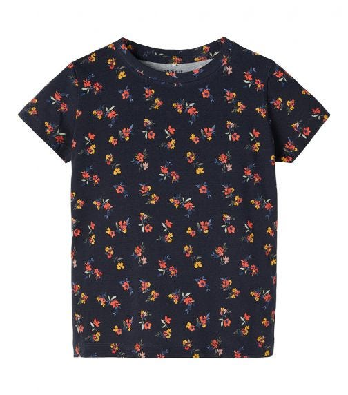 NAME IT Baby Boy Floral Print T-Shirt