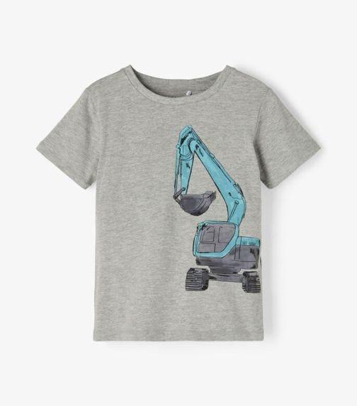 NAME IT Baby Boy Front Digger T-Shirt