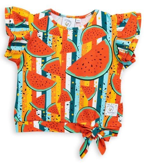 HEY POPINJAY Si Si T-Shirt - Watermelon