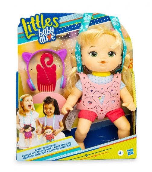 BABY ALIVE Littles Carry N Go Squad - Little Chole