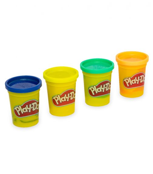 PLAY-DOH Classic Color - Blue, Yellow, Green & Orange