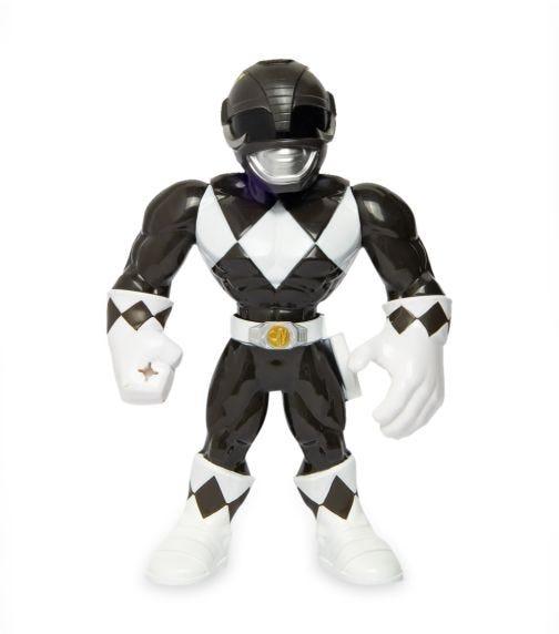 POWER RANGERS Playskool Heros Mega Mighties - Black Ranger