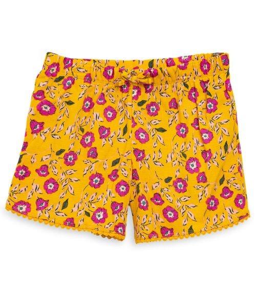 CARTER'S Ruffle Crinkle Jersey Shorts