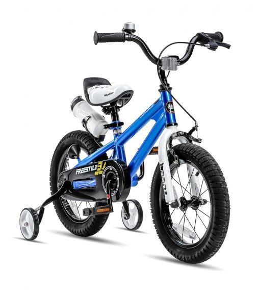 ROYAL BABY 14 Freestyle Bicycle - Blue