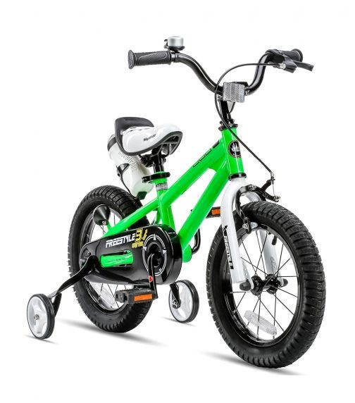 ROYAL BABY 14 Freestyle Bicycle - Green