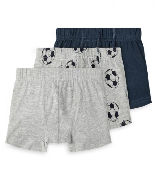 NAME IT Football Boxer Shorts (3-Pack)