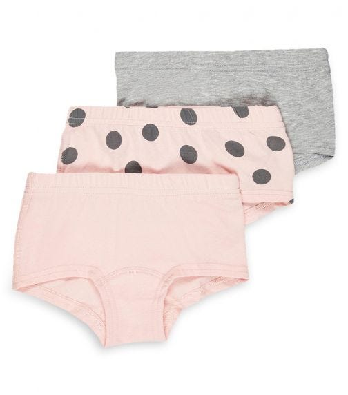 NAME IT Strawberry Cream Hipster (3-Pack)