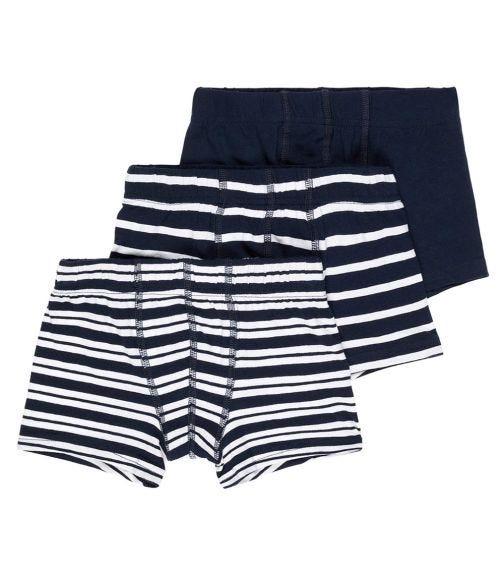 NAME IT Dark Sapphire Boys Boxer Shorts (3-Pack)