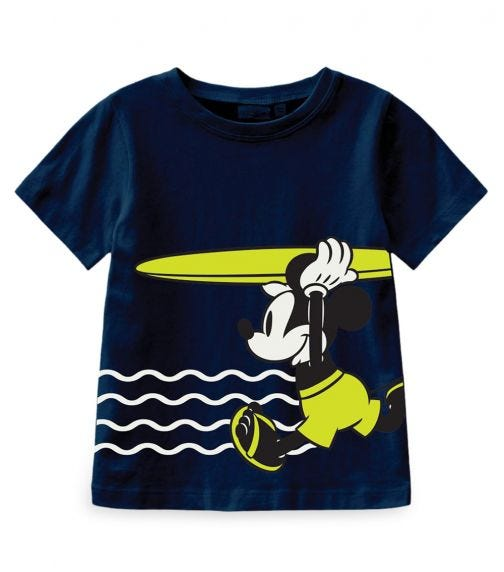 NAME IT Surfboard Mickey Top