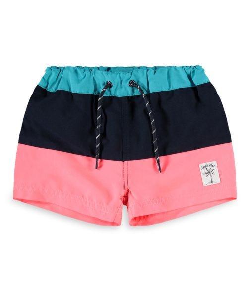 NAME IT Tri-Stripe Swim Shorts