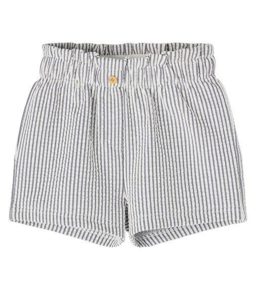 NAME IT Navy Striped Shorts