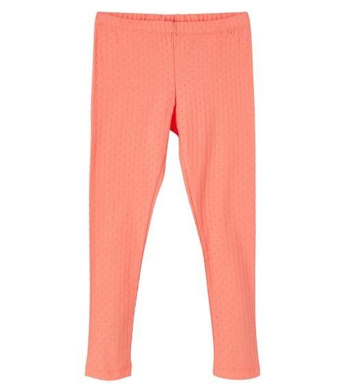 NAME IT Coral Organic Cotton Leggings