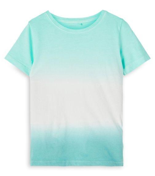 NAME IT Blue Hue Tie Dye Top