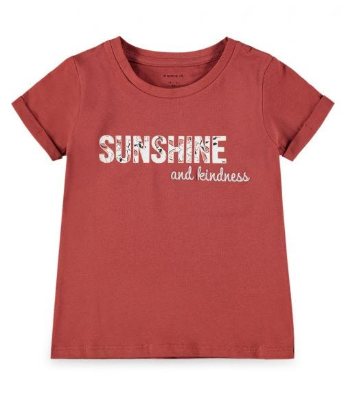 NAME IT Maroon Sunshine And Kindness