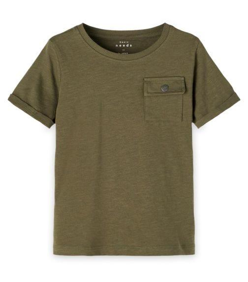 NAME IT Olive T-Shirt