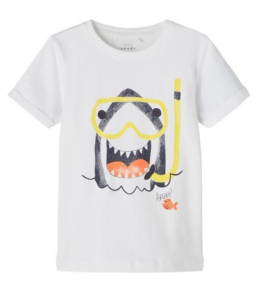 NAME IT Snorkeling Shark T-Shirt