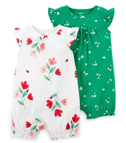 CARTER'S 2-Pack Rompers