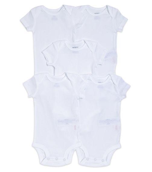 CARTER'S 5-Pack Short-Sleeve Original Bodysuits