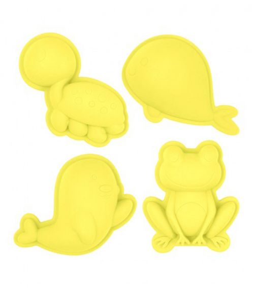 SCRUNCH Moulds - Pastel Yellow