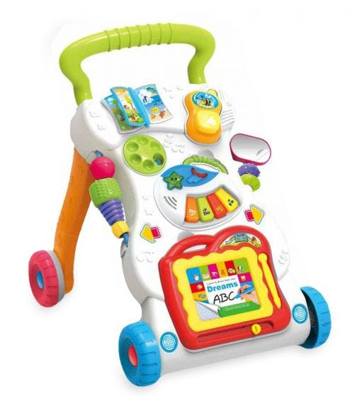 HUANGER Baby Walker With Light And Music