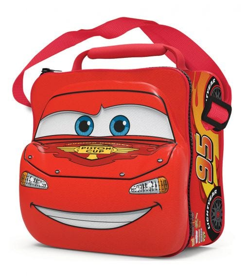 CARS 3D Character Insulated Bag With Strap Cars