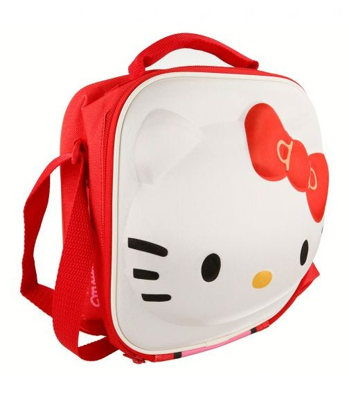 HELLO KITTY 3D Character Insulated Bag With Strap
