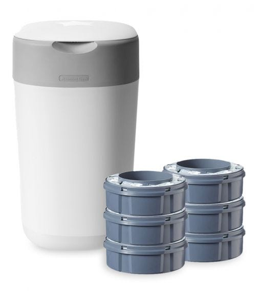 TOMMEE TIPPEE Twist And Click Advanced Nappy Disposal