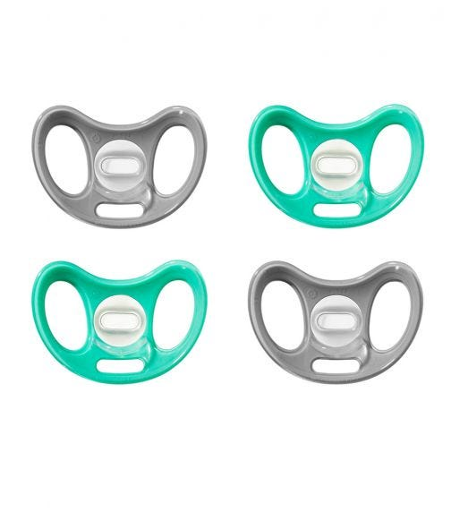 TOMMEE TIPPEE Advanced Sensitive Soother 0-6M (4-Pack)