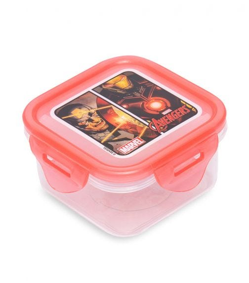 AVENGERS Square Hermetic Food Container 290 ML