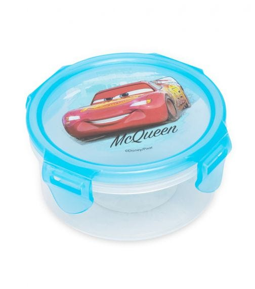 CARS  Round Hermetic Food Container 270 ML