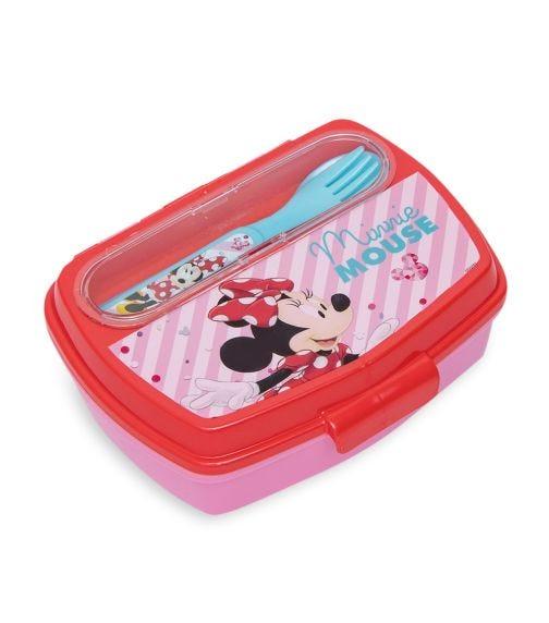 MINNIE Sandwich Box With Cutlery