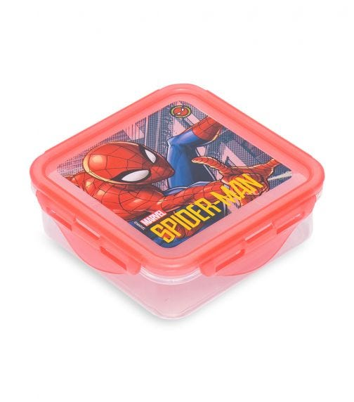 SPIDERMAN Square Hermetic Food Container 500 ML