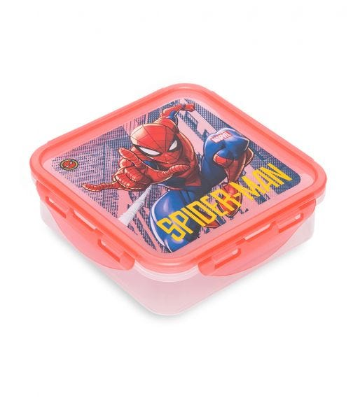 SPIDERMAN Square Hermetic Food Container 750 ML