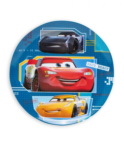 CARS  Melamine Plate Without Rim