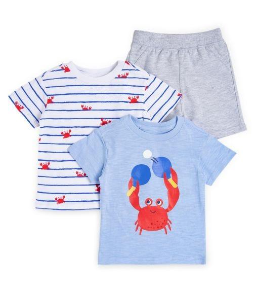 LITTLE ME 3-Piece Crab Play Set